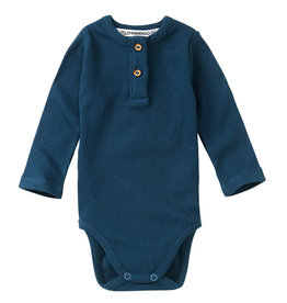 Mingo Bodysuit rib | teal blue