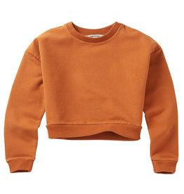 Mingo Cropped sweater | dark ginger