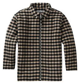 Mingo Shirt flannel   check caramel/black