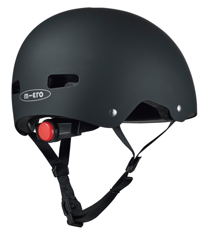 Micro steps Micro abs helm deluxe zwart