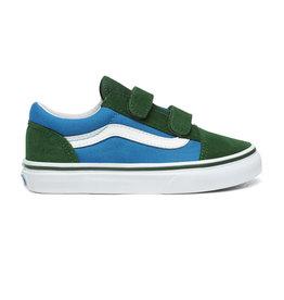 Vans Old skool 2 tone groen en blauw