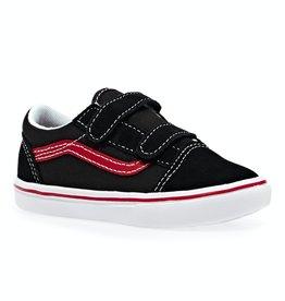 Vans Comfycush pop black red