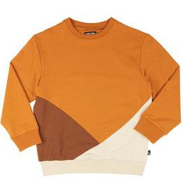 CarlijnQ Basics sweater block | multi brown
