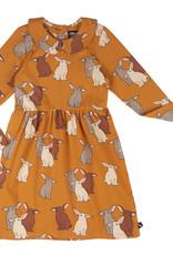 CarlijnQ Rabbits skaterdress with collar