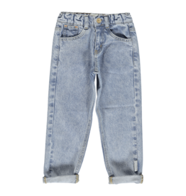 piupiuchick Mom fit trousers| Washed light