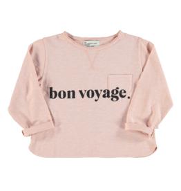 piupiuchick Longsleeve t-shirt | pale pink | print
