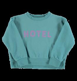piupiuchick Unisex sweatshirt | Emerals hotel print