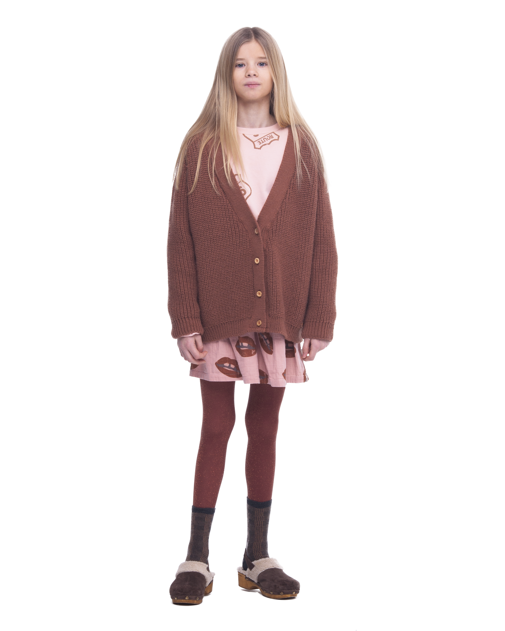 piupiuchick Short skirt | Pale pink lips alle over