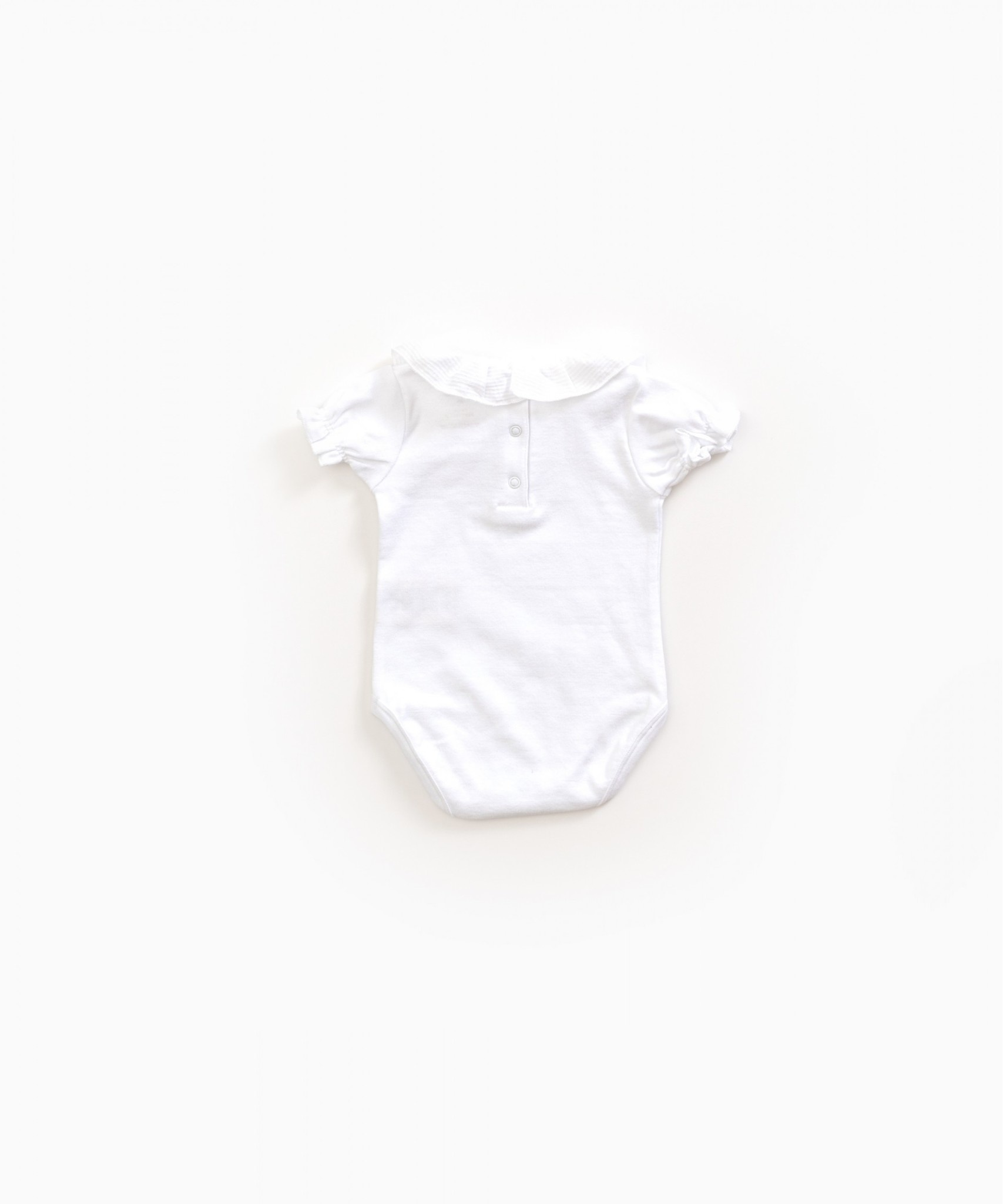 Play-up Body with frill in organic cotton