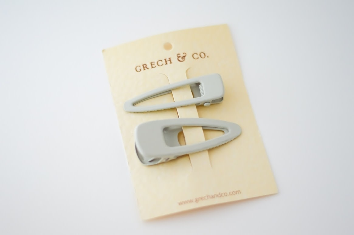 Grech & Co Matte clips set of 2 | Buff