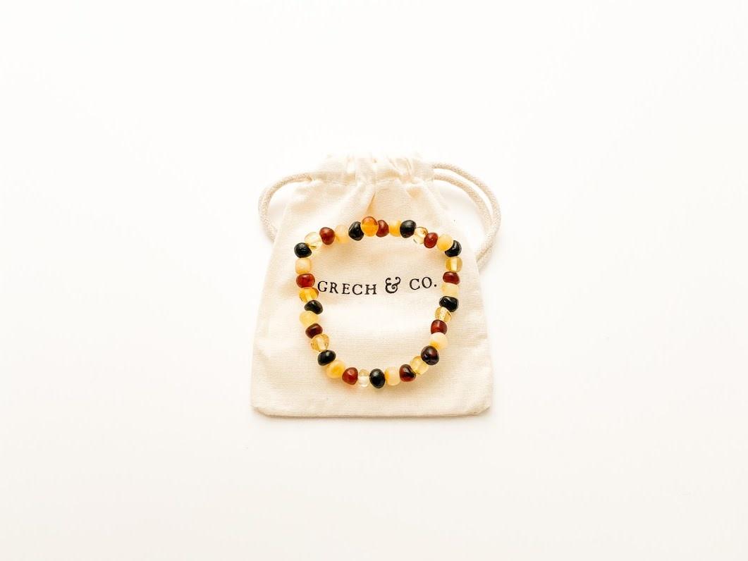 Grech & Co Baltic Amber volwassen armband| Faith