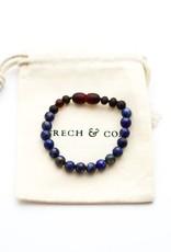 Grech & Co Chakra Lapis lazuli armband/ enkelband