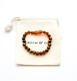 Grech & Co Chakra tiger eye | armband