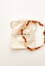 Grech & Co Baltic Amber kinderketting | Willow
