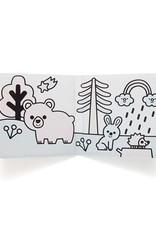Petit Monkey Splish Splash magic bath book land