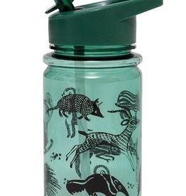 Petit Monkey Drinking bottle black animals salie