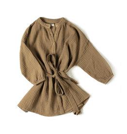 Nixnut Cord dress | Olive