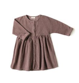 Nixnut Horn dress | mauve