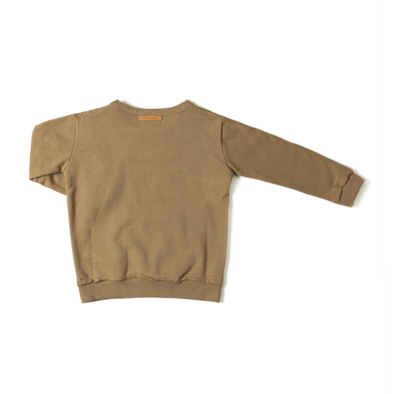 Nixnut Kangaroo sweater | Olive