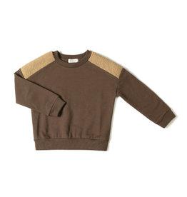 Nixnut Par sweater | choco