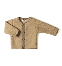 Nixnut Teddy vest camel | lammy