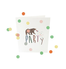 THE GIFT LABEL Confetti card | Party