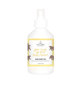 THE GIFT LABEL Baby body oil 250 ml | You look so cute little bear