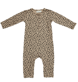 Blossom kids Playsuit animal dot | warm sand
