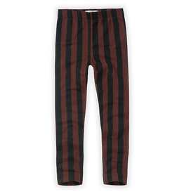 Sproet & Sprout Pants | Painted Stripe Chocolate