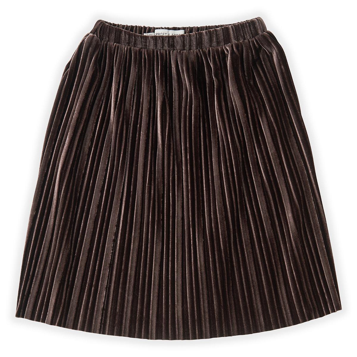 Sproet & Sprout Skirt | Velvet Pleats