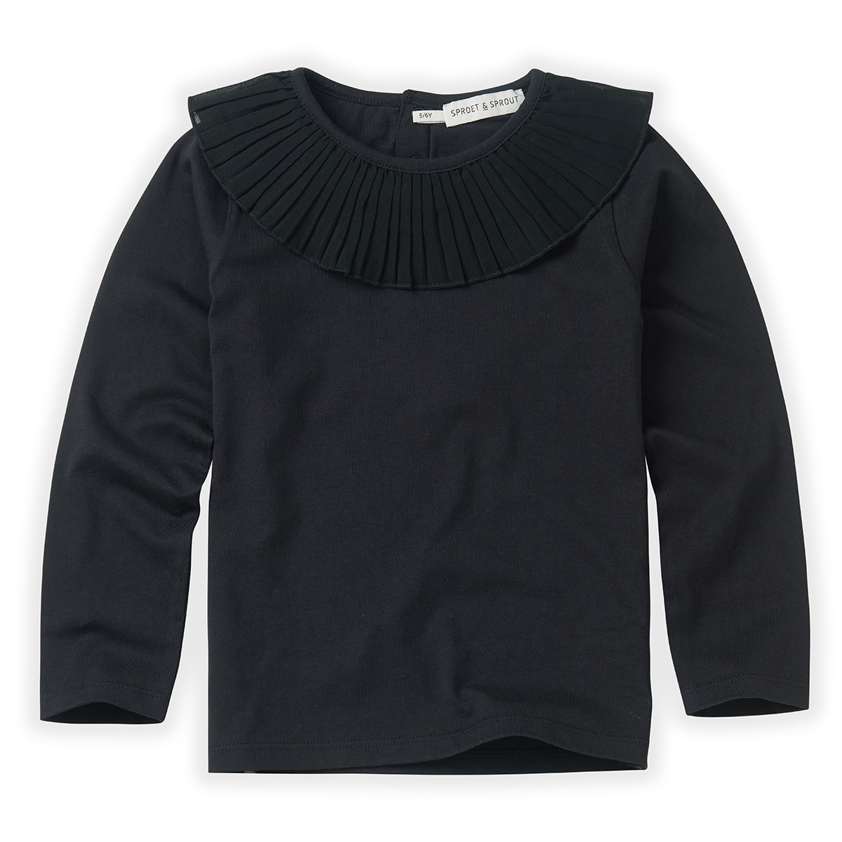 Sproet & Sprout T-shirt collar | Black
