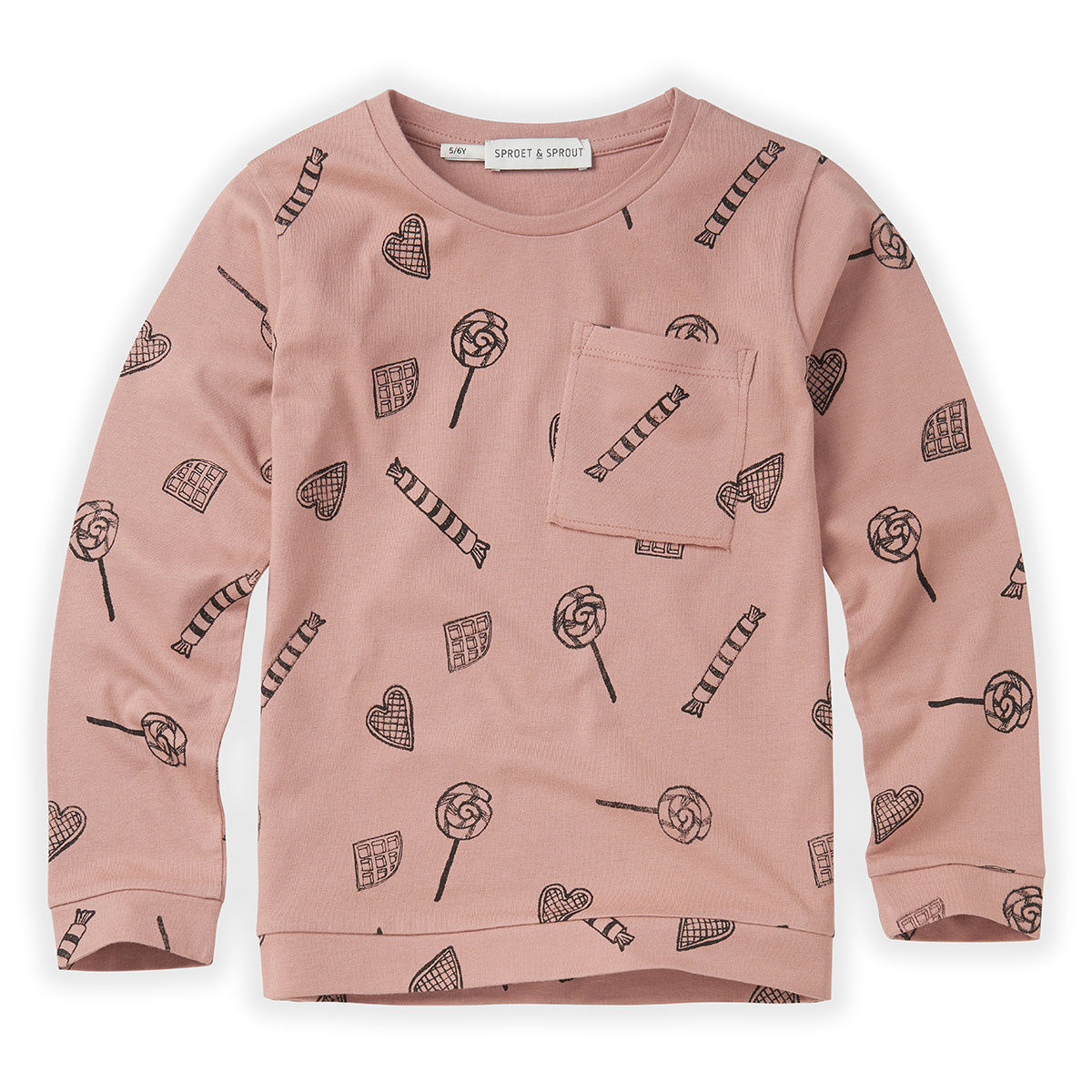 Sproet & Sprout T-shirt | Candy AOP