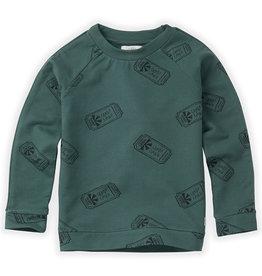 Sproet & Sprout Sweatshirt | Raglan Ticket AOP