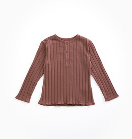 Play-up Rib t-shirt | PURPLEWOOD