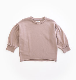 Play-up Fleece sweater | PURPLEWOOD