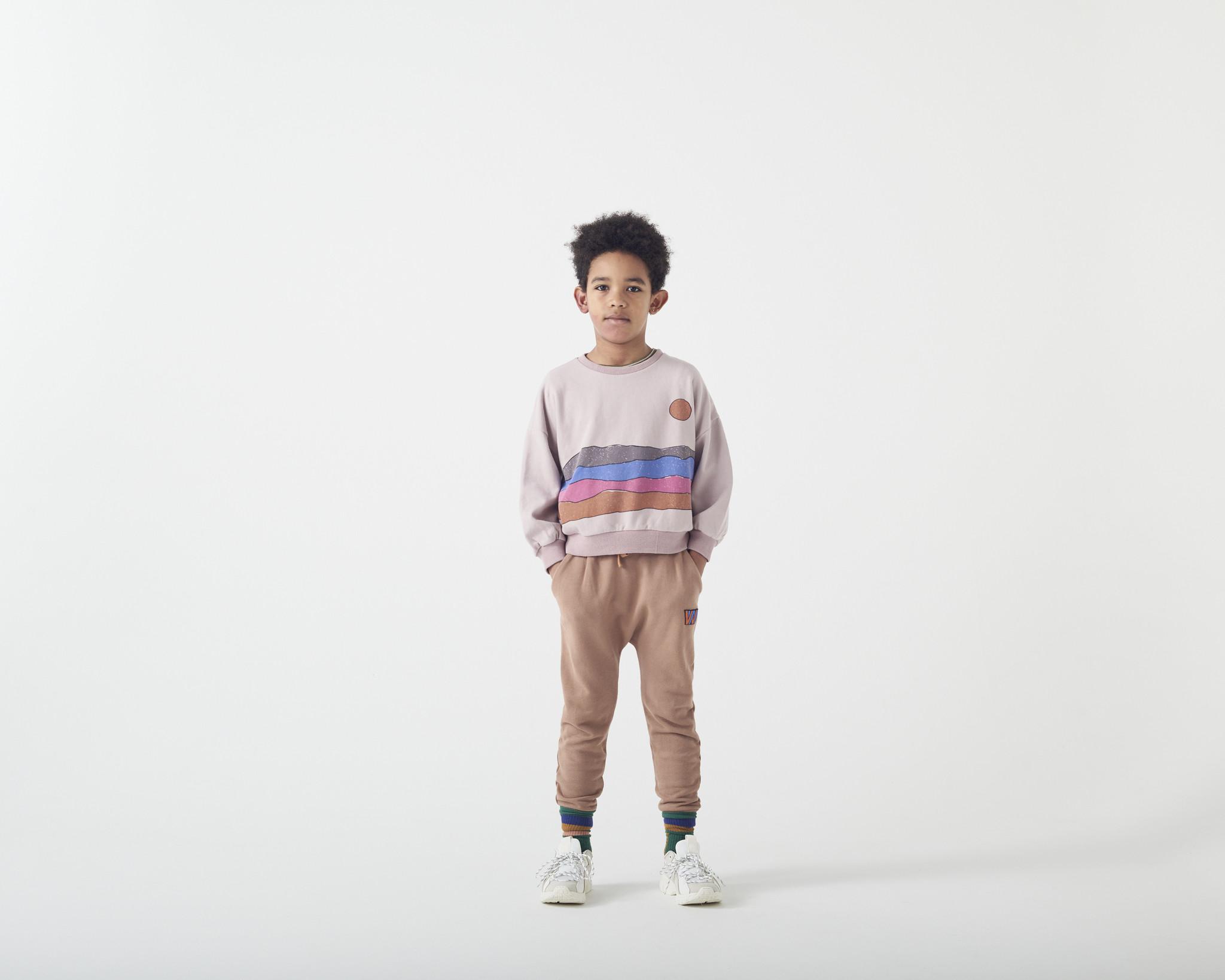 Wander & Wonder Desert print sweatshirt | mauve