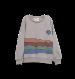 Wander & Wonder Derert print sweatshirt | grey