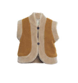 Wander & Wonder Reversible vest | mnustard