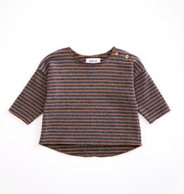 Play-up Striped jersey sweater | CHERRY TREE
