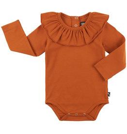 CarlijnQ Body suit with big collar | oranje