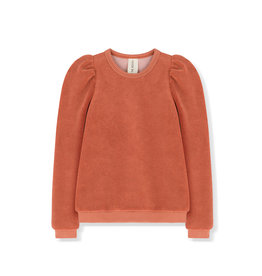 Kids on the moon Amber puff top