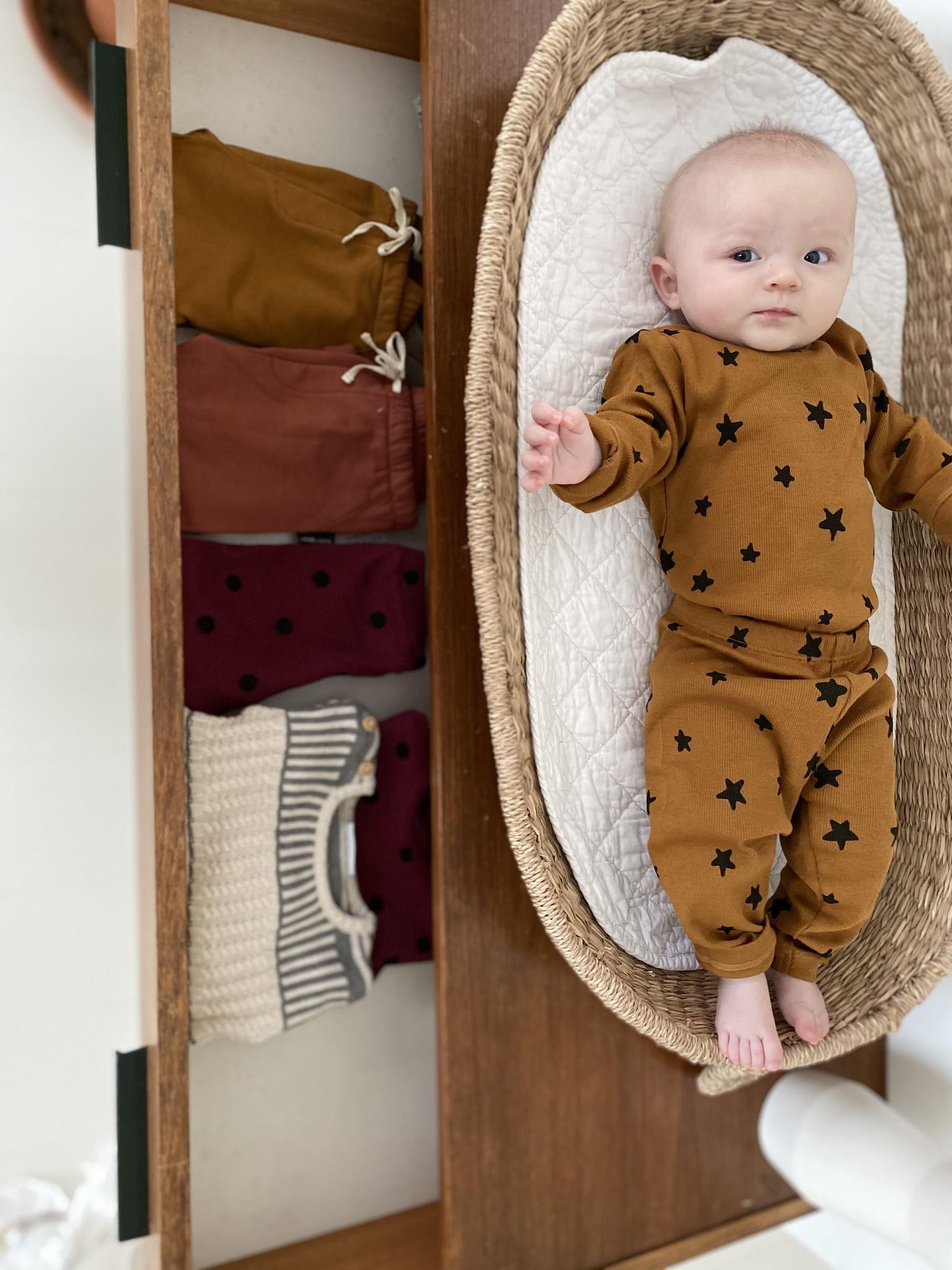 DAILY BRAT Mini star pants | Sandstone
