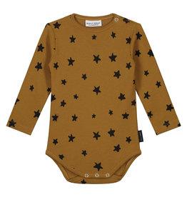 DAILY BRAT Mini star bodysuit | sandstone