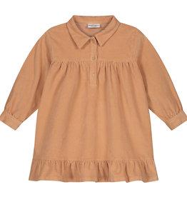 DAILY BRAT Liyan corduroy dress | copper rose
