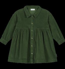 DAILY BRAT Brooke corduroy dress | olive rose
