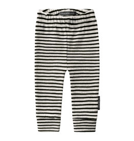 Your Wishes Beige stripes - fitted pants | chalk
