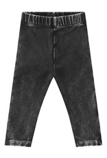 Your Wishes Stonewash legging | charcoal