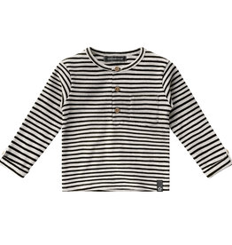 Your Wishes Beige stripes | grandpa longsleeve chalk