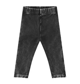 Your Wishes Stonewash legging | Charcoal
