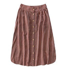 Your Wishes Rusty stripe | Button long skirt mama